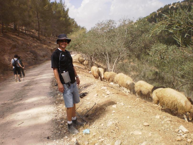 Mr. Neufeld discovers wildlife in Jordan