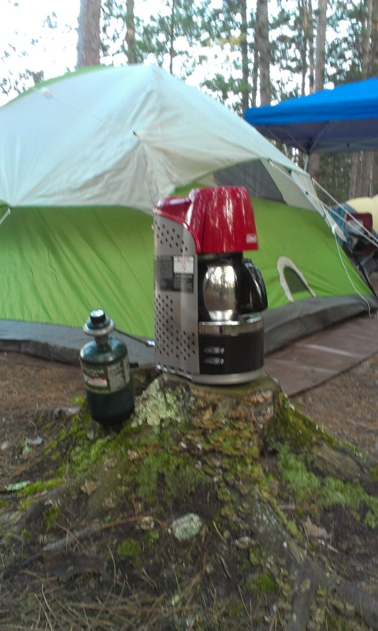 Propane Coffeemaker....good