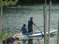 Small boat sailing - William G. and Michael A.