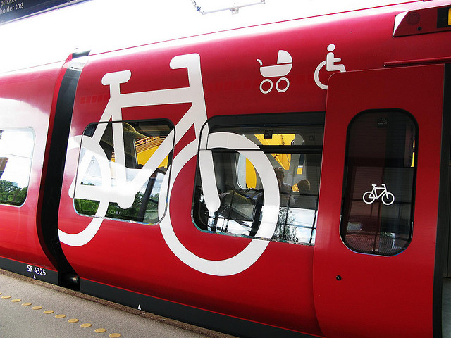 Copenhagen Bike Train
