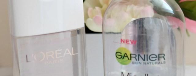 Micellar Water Comparison: Garnier vs. L'Oreal