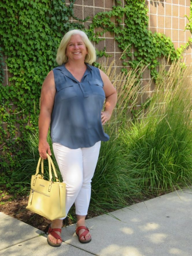 Summer errand outfit
