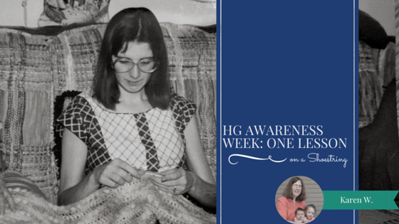 HG Awareness Week: One Lesson