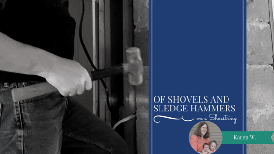 Of shovels and sledge hammers
