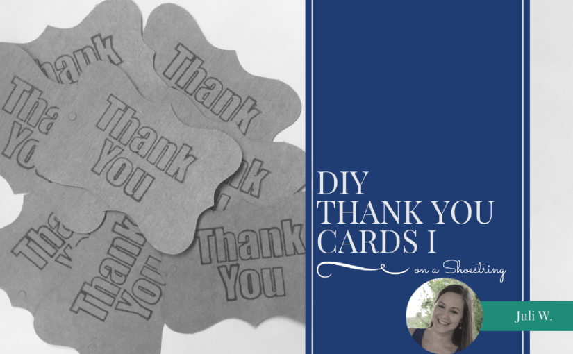 DIY Thank You Cards I