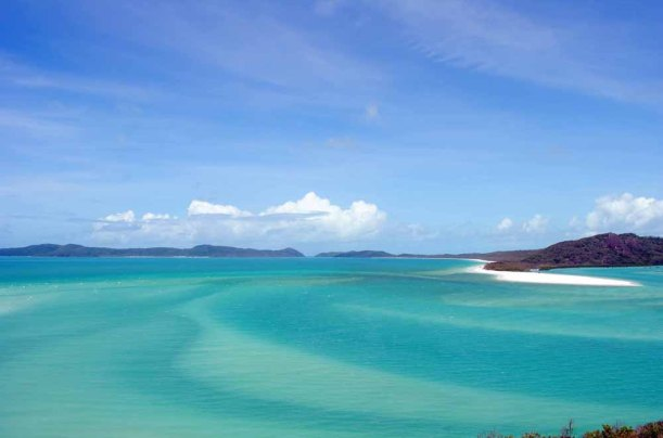 Hill Inlet from Tongue POint Lookout, Whitsunday Island.