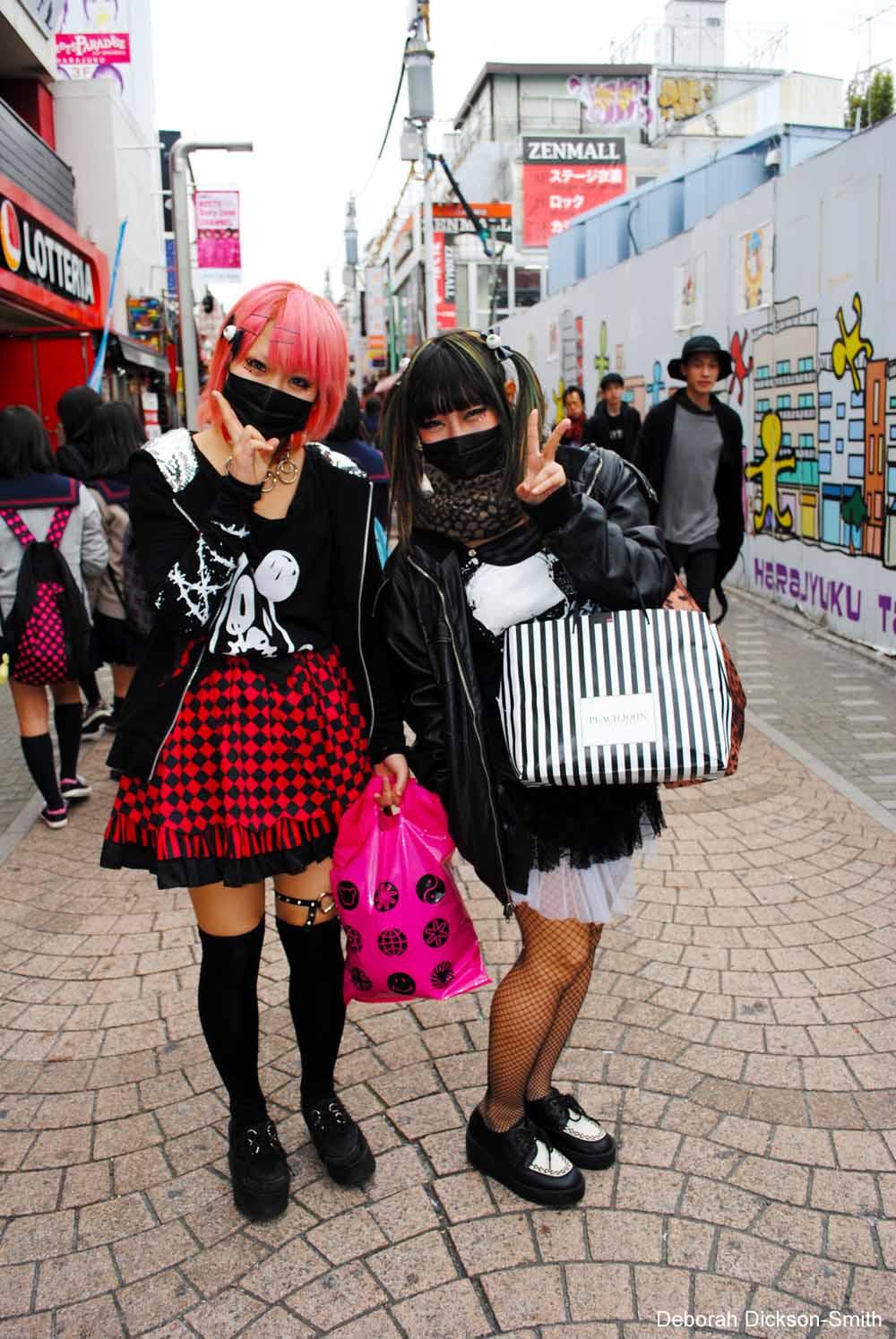 Harajuku Punk Girls, Tokyo.