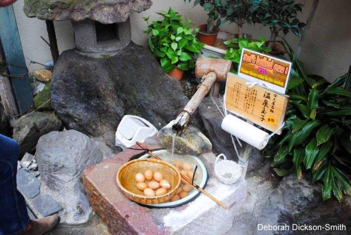 Onsen eggs, Shibu Onsen