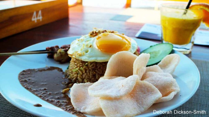 Nasi Goreng at Komune Resort and Beach Club, Bali.