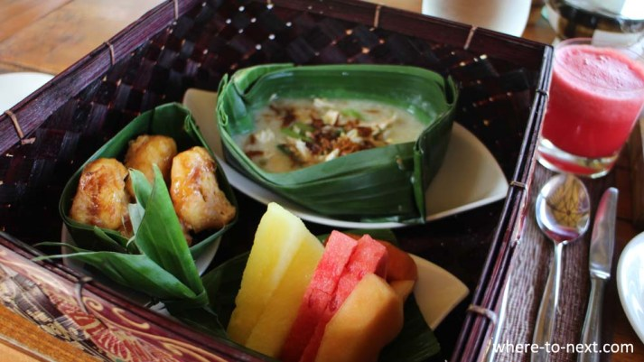 Four Seasons Sayan Ubud Balinese breakfast