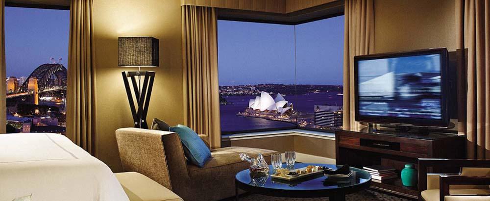 Four Seasons Sydney view of Sydney Harbour