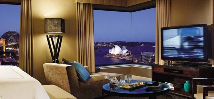 Four Seasons Sydney view of Sydney Harbour