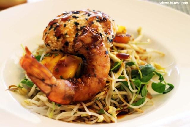Healthy organic meals at Golden Door Health Retreat