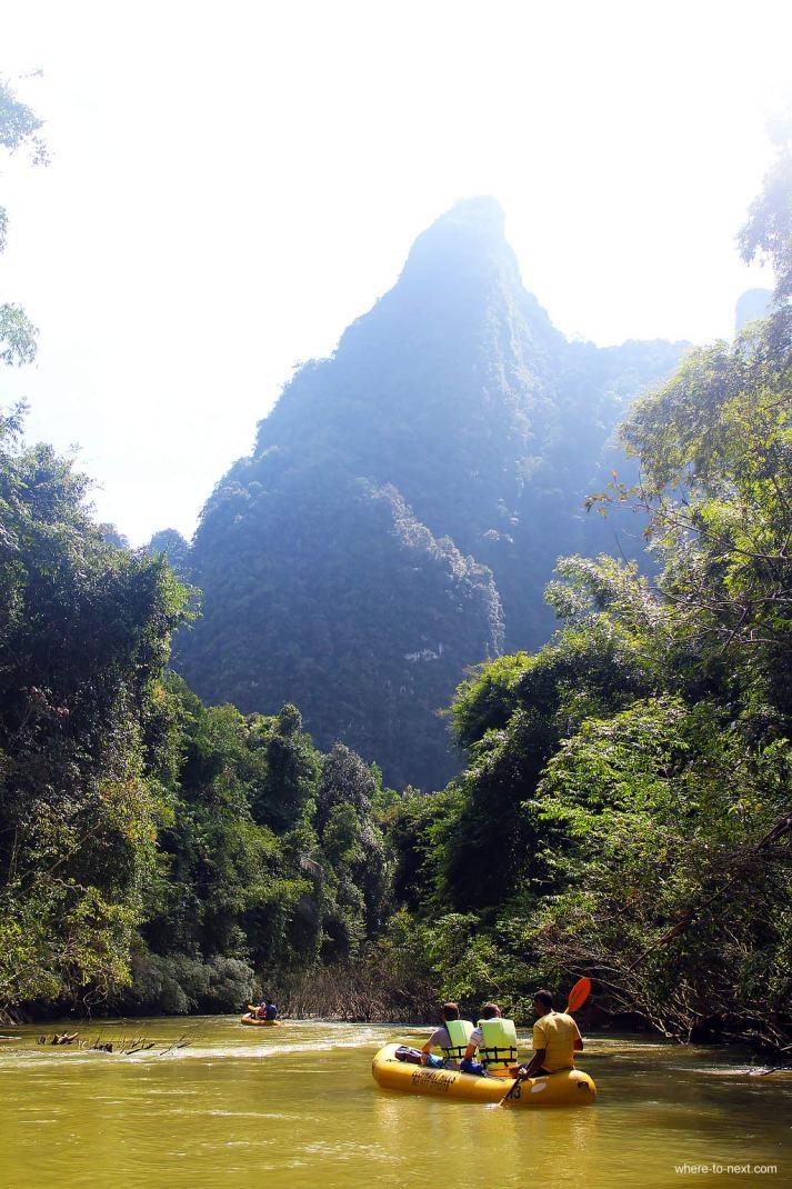Elephant Hills rafting Sok River