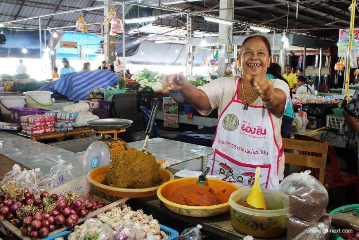Khao Sok market, Thailand