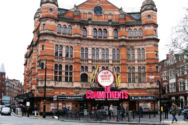 Palace theatre, things to do in London
