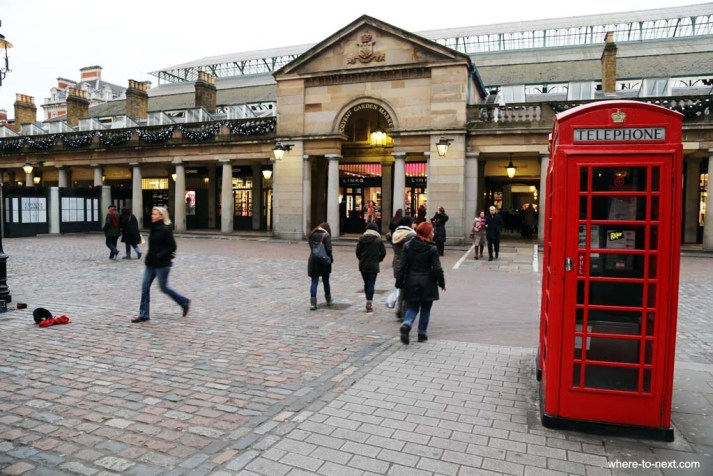Covent Garden, things to do in London