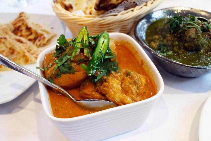 Goan fish curry - Malabar restaurant review