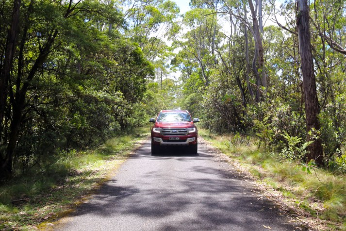 Ford Everest road trip