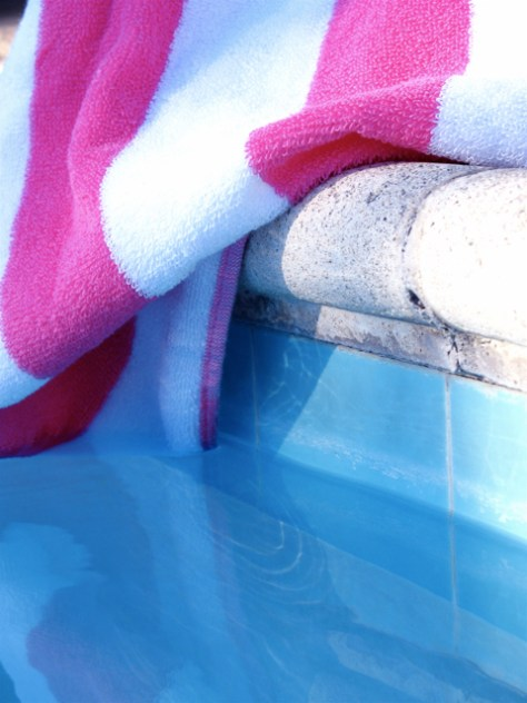 Pink Striped Towel, Photo Romi Cortier