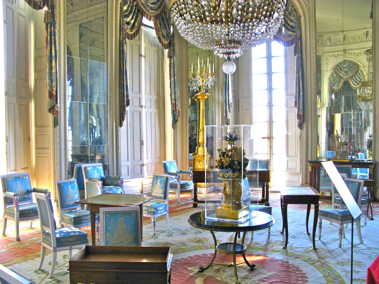 Grand Trianon Chairs. Interior Design