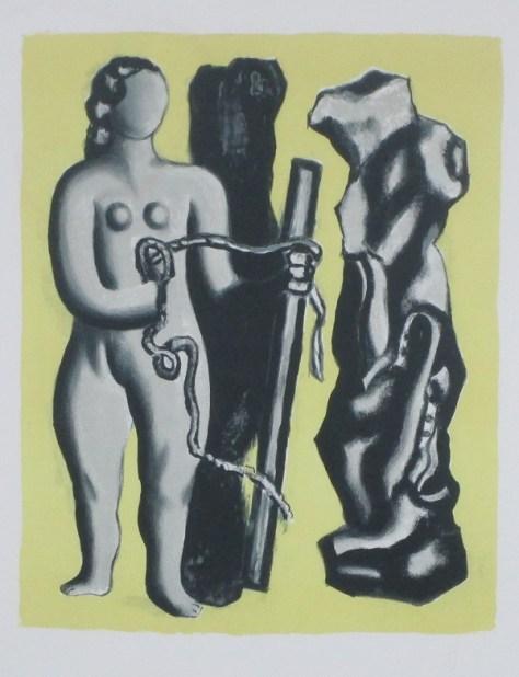 Fernand Leger, Lot 141, Clark Cierlak Fine Arts Estate Auction Service