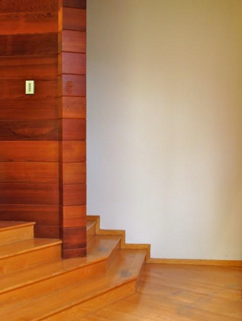 Stairwell, Tyler Residence by John Lautner, Photo Romi Cortier