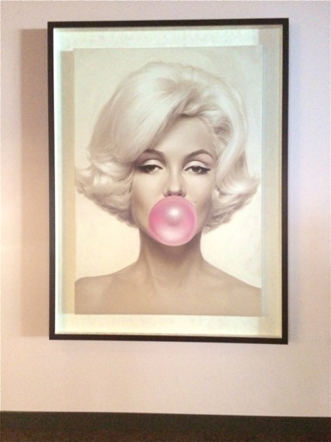Marilyn Monroe Photo, SLS Hotel & Casino, Las Vegas, Photo Romi Cortier