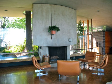 John Lautner's Silvertop Residence, Photo Romi Cortier
