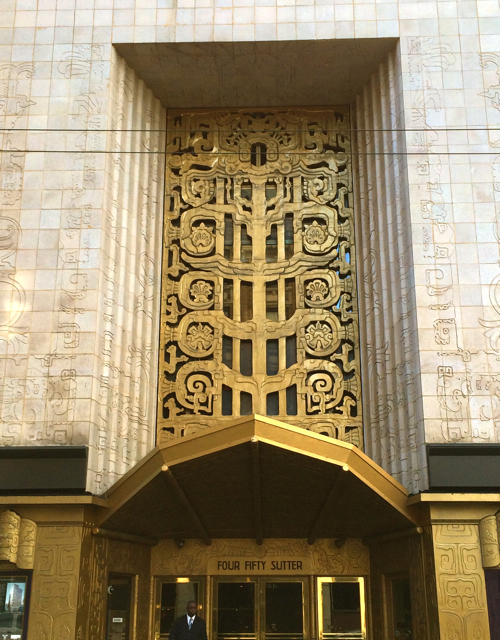 Mayan art deco in san francisco Deco san francisco