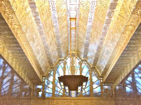 Mayan Art Deco at 450 Sutter, San Francisco, Photo Romi Cortier