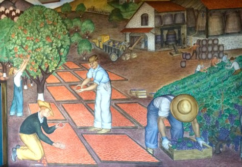 Mural at Coit Tower, San Francisco, Photo Romi Cortier