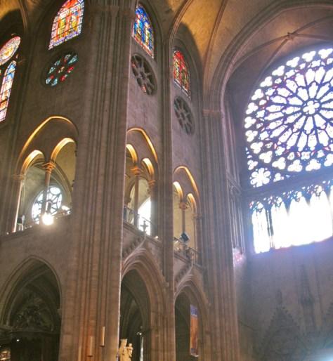 South Rose Window, Notre Dame, Paris, Photo Romi Cortier