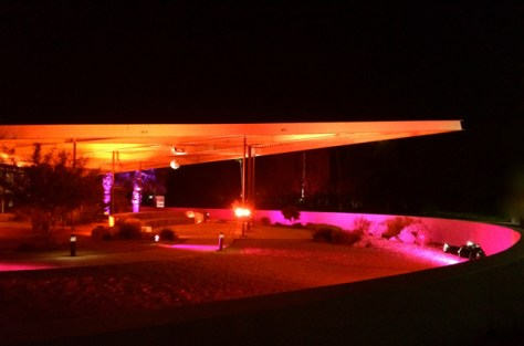 Illuminated Modern, Palm Springs Visitor Center, Modernism Week 2015, Photo Romi Cortier