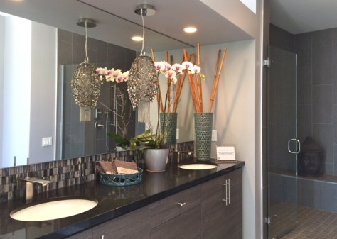 Master Bathroom, Sol 2, Palm Springs, Photo Romi Cortier