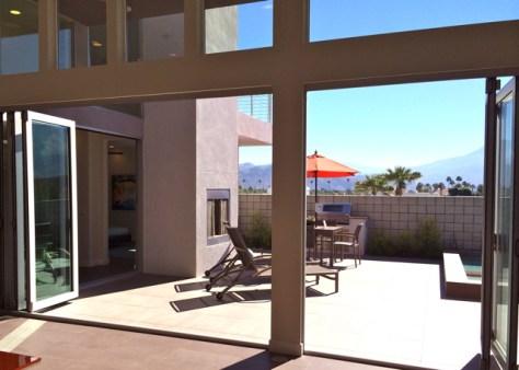 Sol 1, Patio, Palm Springs, Photo Romi Cortier