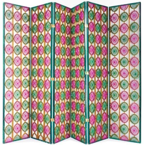 Tony Duquette, Six Panel Screen, LAMA, Lot 47