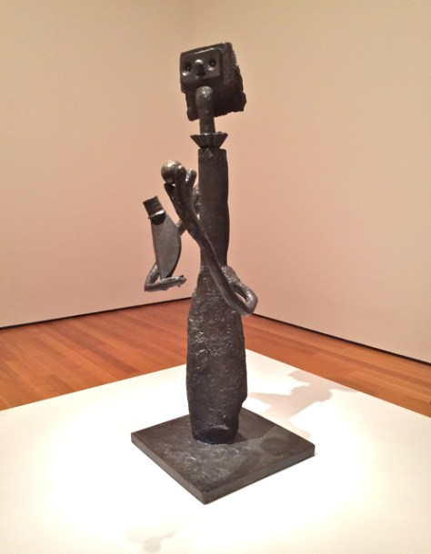 Pablo Picasso Sculpture, MOMA, NYC, Photo Romi Cortier
