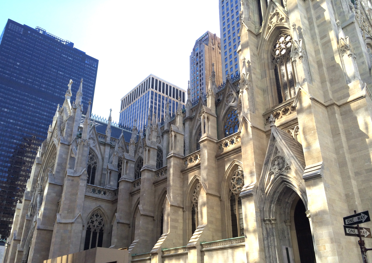 new york s renovated st patrick s cathedral