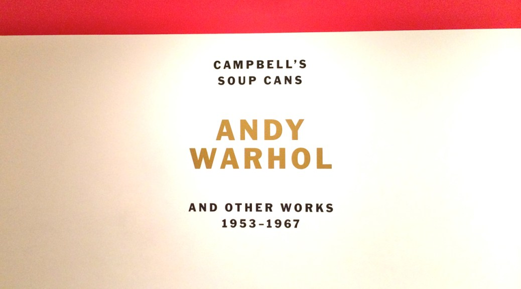 Andy Warhol, Cambell's Soup Cans, MOMA, Photo Romi Cortier