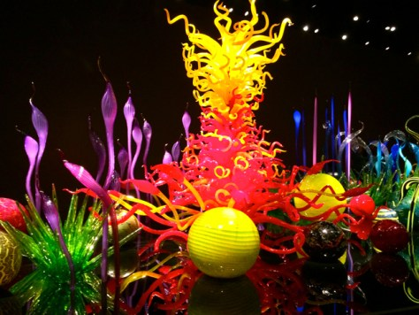 Mille Fiori, Chihuly Garden and Glass, Seattle, Photo Romi Cortier