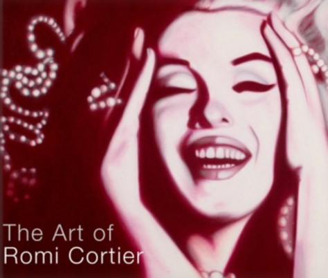 Red Marilyn, The Art of Romi Cortier, Available on Blurb & Amazon