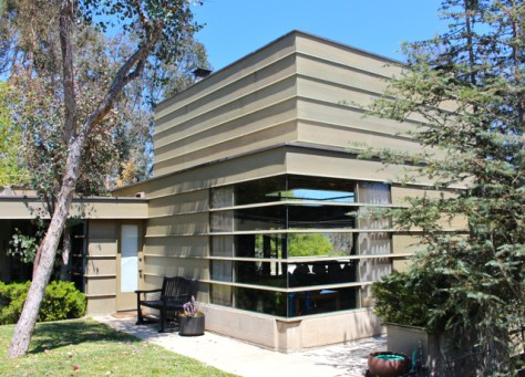 How House, R.M. Schindler, Architect, Silver Lake, Ca. Photo Romi Cortier