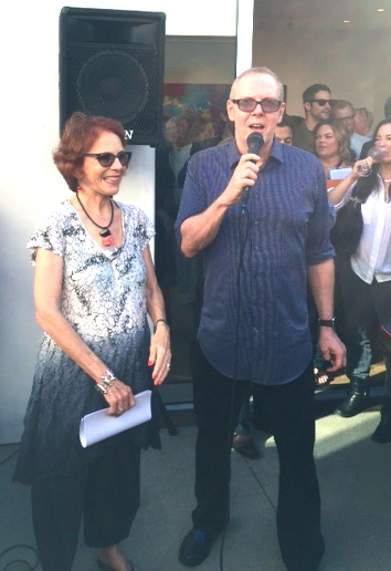 Ellie Blankfort & Norman Buckley, Davyd Whaley Foundation Launch Party, Los Angeles