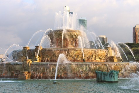 Buckingham Fountain, Chicago, Photo Romi Cortier