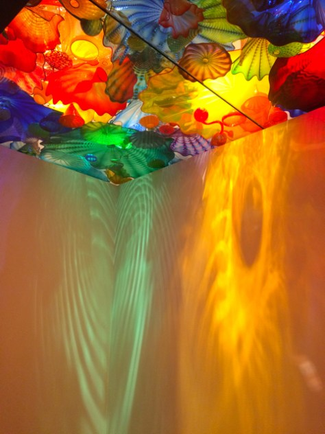 Chihuly Garden and Glass Museum, Seattle, Wa. Photo Romi Cortier