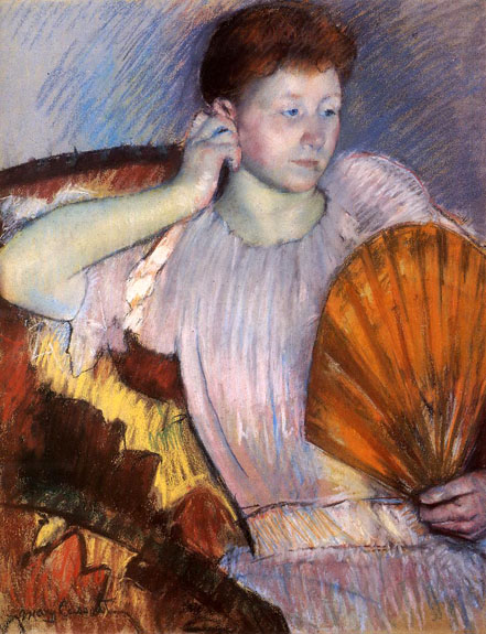 'Contemplation' by Mary Cassatt, 1891 -92