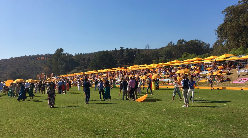 Veuve Clicquot Polo Classic, 2017, Will Rogers State Park, Photo Romi Cortier