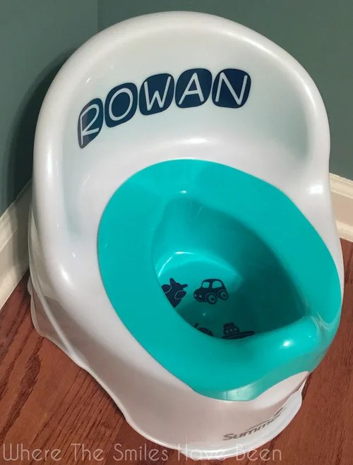 Personalized Potty Chair & Potty Training Targets: Ready, Aim, FIRE! | Where The Smiles Have Been