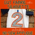 How to Cut Fabric and Make a No-Sew Appliqué